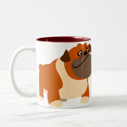 Cute English Bulldog Mug Zazzle