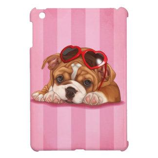 Cute English Bulldog Puppy iPad Mini Covers