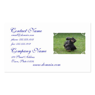 Cute English Cocker Spaniel Business Cards