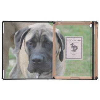 Cute English Mastiff Cases For iPad