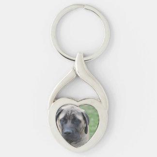 Cute English Mastiff Keychains