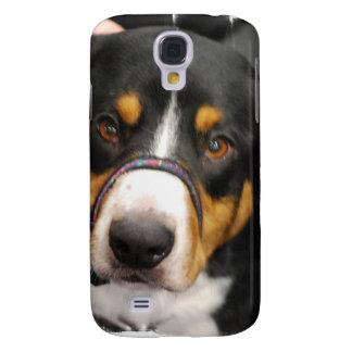Cute Entlebucher Mountain Dog Galaxy S4 Case