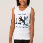 Cute Equestrian Pony Jumper Tank Top
