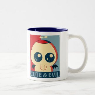 Cute & Evil '12 Two-Tone Coffee Mug