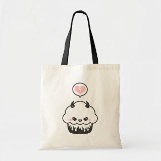 Cute Evil Cupcake Tote Bag