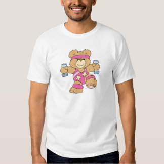 Cute Exercise Fitness bear T Shirt