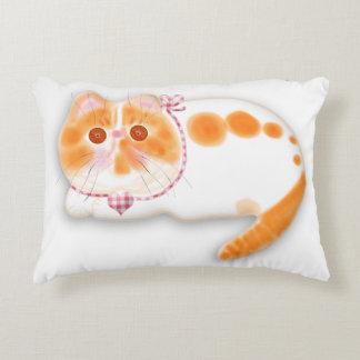 Cute exotic persian cat pillow