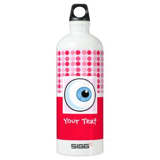 Cute Eyeball Aluminum Water Bottle