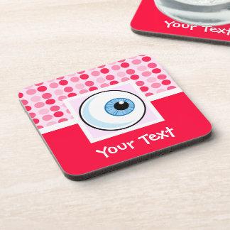 Cute Eyeball Beverage Coasters