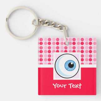 Cute Eyeball Keychain