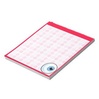Cute Eyeball Note Pads