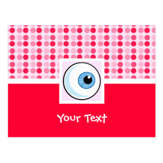 Cute Eyeball Postcard