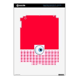 Cute Eyeball iPad 3 Skin