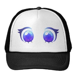 CUTE EYES CAP TRUCKER HAT