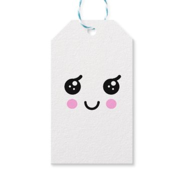 jasmineflynn Cute Face Gift Tags