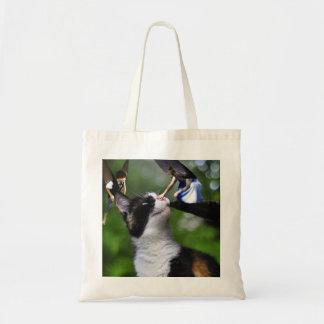 Cute Fairies and Kitty Cat Tote Bag