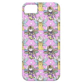Cute Fairies and Stars and Moons Pattern iPhone SE/5/5s Case