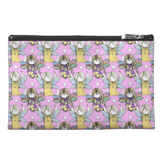 Cute Fairies and Stars and Moons Pattern Travel Accessory Bag