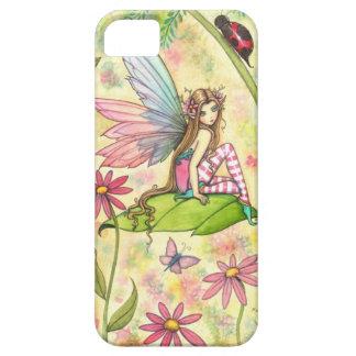 Cute Fairy and Ladybug Fantasy Art iPhone 5 Cover