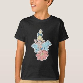 cute fairy dancing on flower T-Shirt