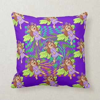 Cute Fairy Design Pillow for A  Little Girls Room