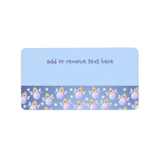 Cute Fairy Godmother Address Label