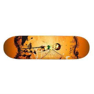 Cute fairy in a frame skateboard