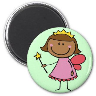 Cute Fairy in a Pink Dress Magnet