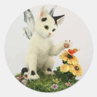 Cute Fairy Kitten sticker