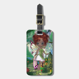 Cute Fairy Luggage Tag