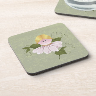 Cute Fairy or Pixie Beverage Coaster