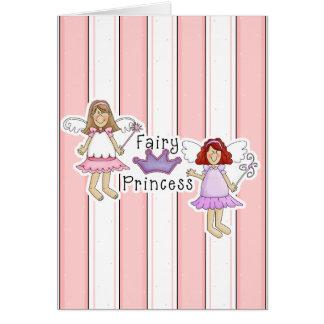 Cute Fairy Princess Design Card