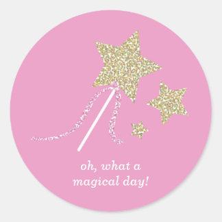 Cute Fairy Princess Party Favor Stickers