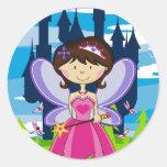 Cute Fairy Princess Sticker Sheet