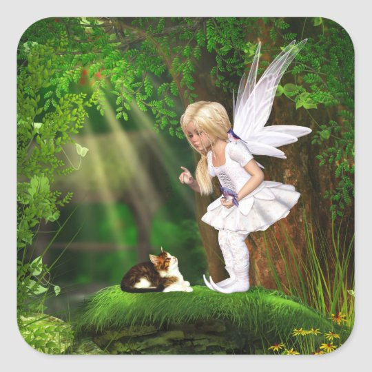 Cute Fairy Sticker