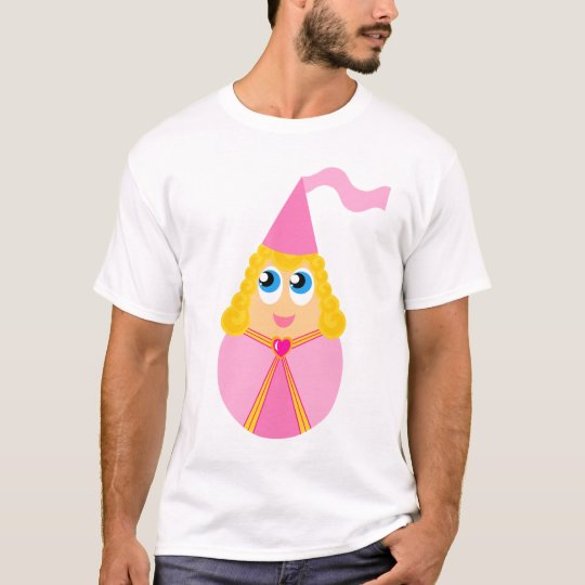 Cute Fairy Tale Princess Kids Tshirt