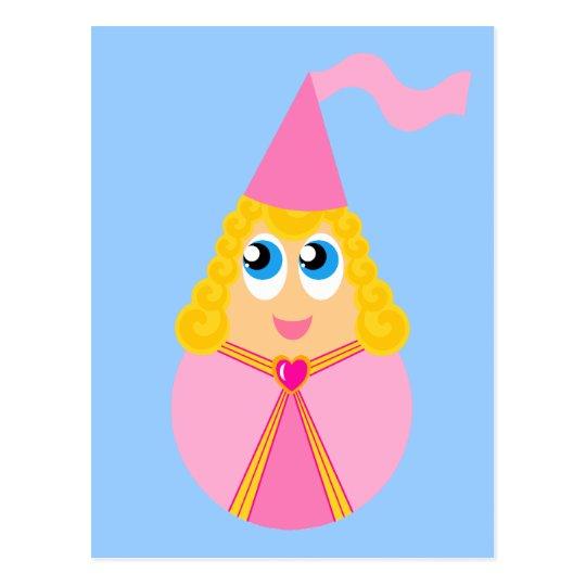 Cute Fairy Tale Princess Postcard