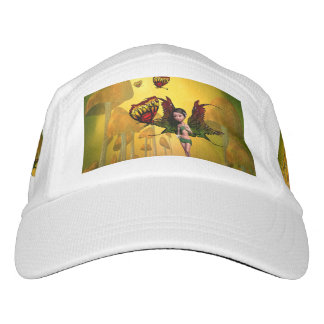 Cute fairy with butterfly headsweats hat