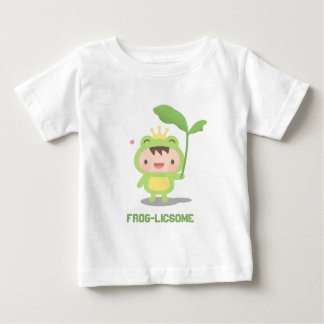 Cute Fairytale Frog Prince For Baby Boys Baby T-Shirt