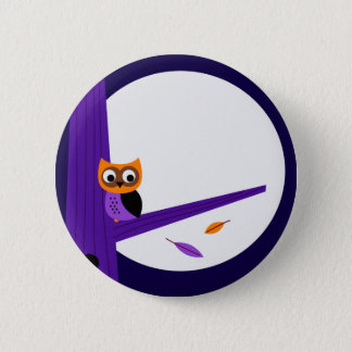 Cute fairytale Owl : Zazzle products are in shop Pinback Button