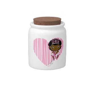 Cute Fairytale Princess Candy Jars