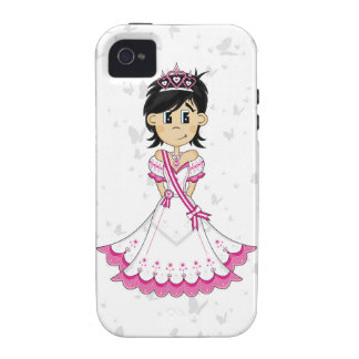 Cute Fairytale Princess iPhone 4/4S Cover