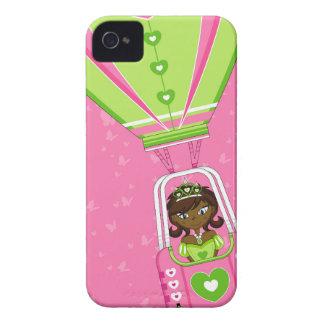 Cute Fairytale Princess in Hot Air Ballon Case-Mate iPhone 4 Cases