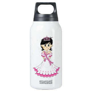 Cute Fairytale Princess Insulated Water Bottle