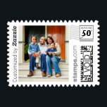 "Cute Family Photo PhotoStamp by Stamps.com<br><div class=""desc"">Create your own custom postage. Add your favorite family photo to create these one-of-a-kind postage stamps. Personalize by adding a custom message.</div>"