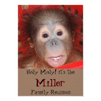 Cute Family Reunion Card