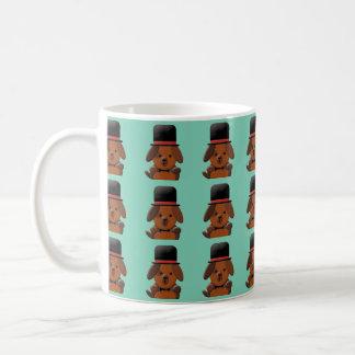 Cute fancy puppy dog mug