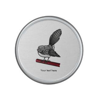 Cute Fantail New Zealand And  Australasian Bird Speaker