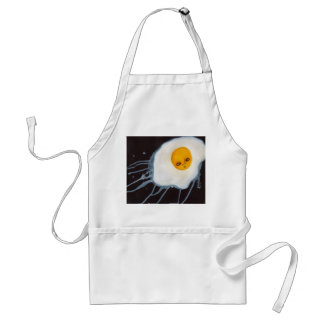 Cute Fantasy Egg Abstract Outsider Artwork Adult Apron