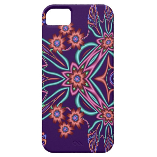 Cute fantasy flowers iPhone SE/5/5s case